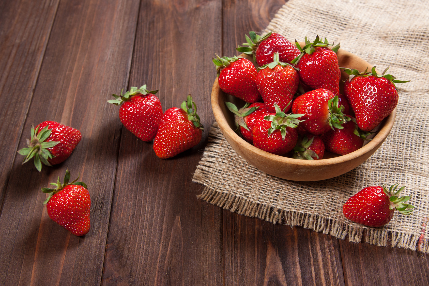 The strawberries from Morocco are now available!