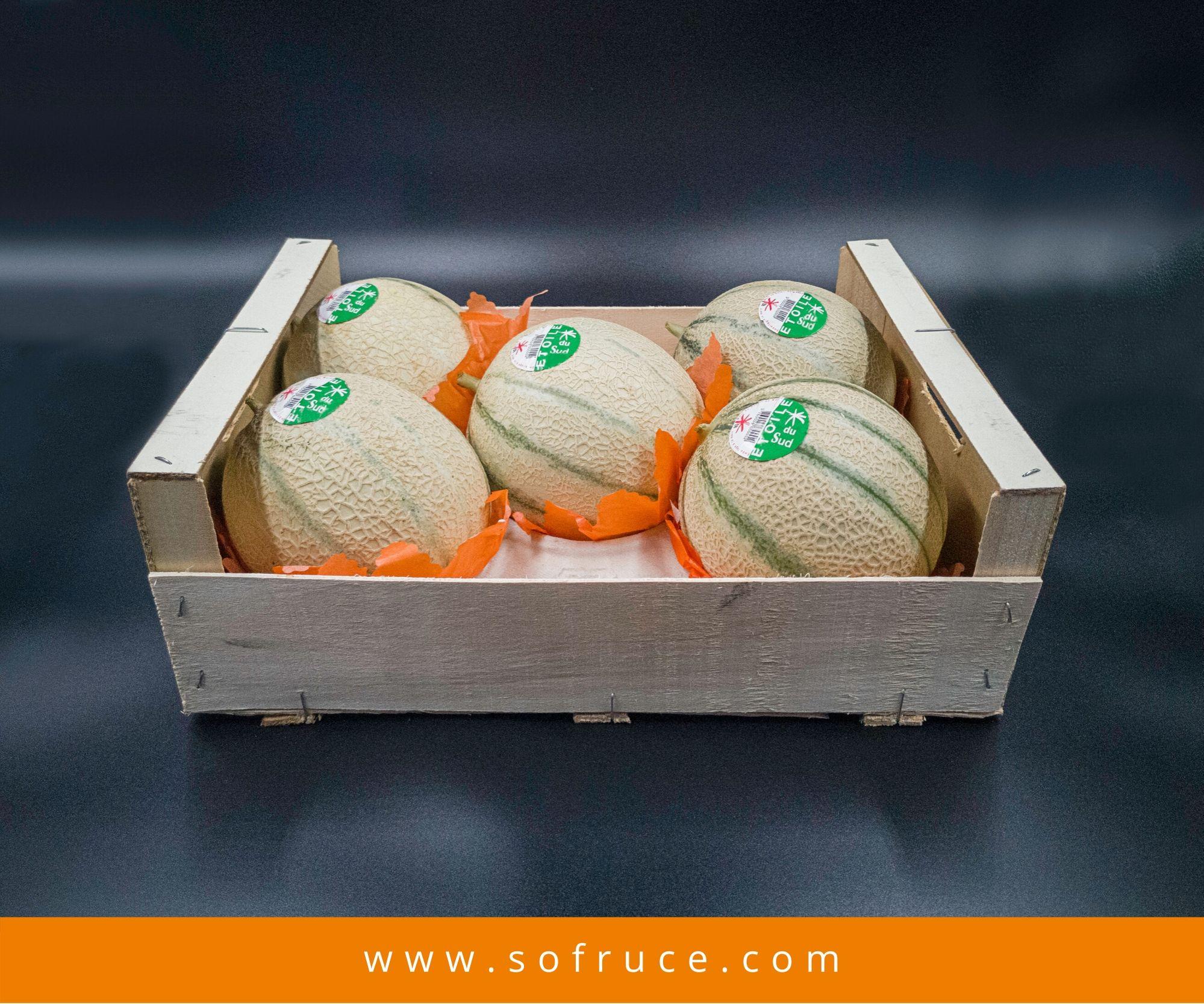 melon colis bois